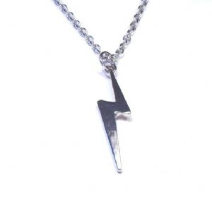 Harry Potter Lightning necklace, prop replica